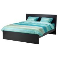 تخت خشب لون فنجا غامق 140x200 سم