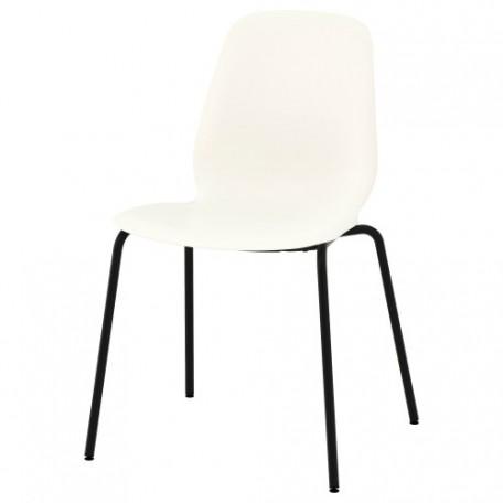 كرسي لون أبيض  أسود