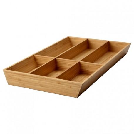 صينية أدوات طعام الخيزران  32x50 سم