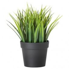 نبات زينة اصطناعي آنية عشب
