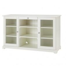 خزانة جانبية أبيض
