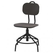 كرسي دوار أسود