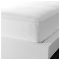 ملف للفرشة لون أبيض 160x200 سم