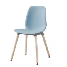 كرسي لون أزرق فاتح  بتولا