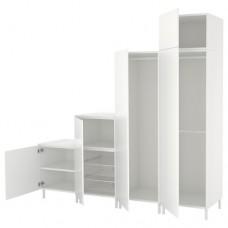 خزانة ملابس لون أبيض  240x57x231 سم