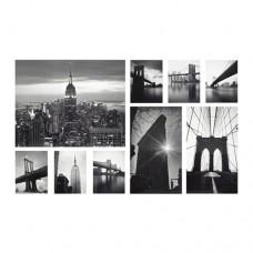 صورة طقم من 9  مناظر المدينة
