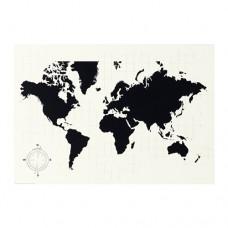 مخطط سبورة سوداء خطط لعالمك