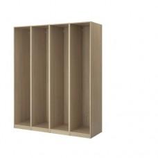 4 إطارات لخزانة الملابس