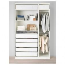 خزانة ملابس أبيض