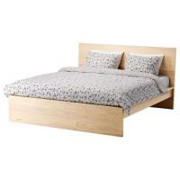 تخت خشب لون خشبي140x200 سم
