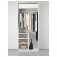 خزانة ملابس لون أبيض