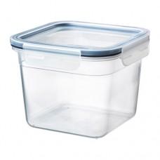 حافظة طعام بغطاء مربع بلاستيك 1.4لتر