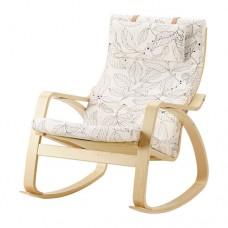 كرسي هزاز, قشرة بتولا, أسود/أبيض