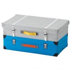 صندوق للعب لون فيروزي