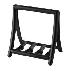 حامل منديل المائدة لون أسود