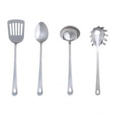 طقم أدوات المطبخ  4 قطع ستنلس ستيل
