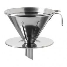 طقم قهوة مرشح معدن 3 قطع ستنلس ستيل
