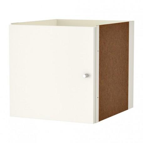 باب خزانه لمكتبه مفتوحه لون ابيض حجم 33x33 سم