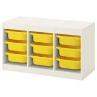 وحدة تخزين تشمل 9 صناديق( يمكن اختيار لون ابيض/اخضر او اصفر)