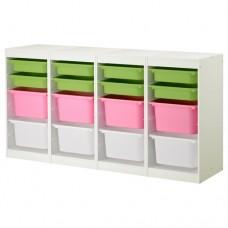 وحدة تخزين تشمل 16 صندوق( ممكن اختيار الوان الصناديق)