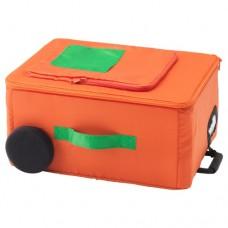 صندوق تخزين لون برتقالي