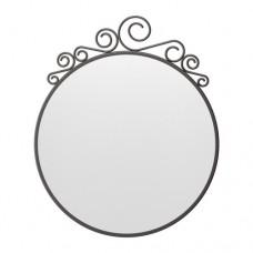 مرآة لون اسود 50x60 سم