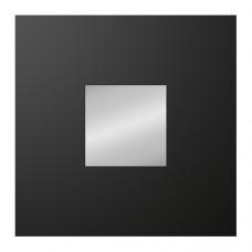 مرآة لون أسود 26x26 سم