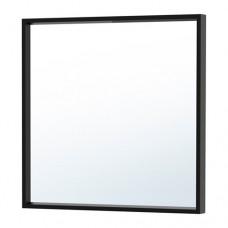 مرآة لون اسود 65x65 سم