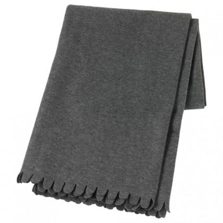 بطانية لون رمادي