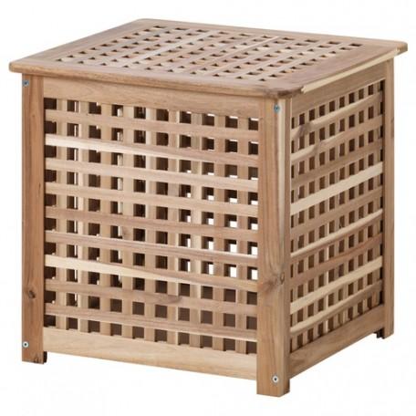 طاولة جانبية خشب السنط 55*55 سم