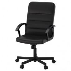 كرسي دوار لون أسود