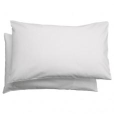 كيس وسادة لسرير أطفال لون أبيض عدد 2