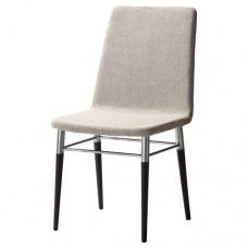 كرسي اكل لون رمادي