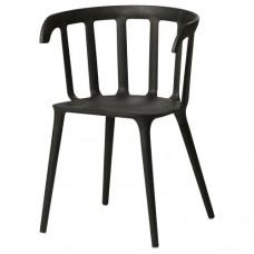 كرسي اكل لون اسود