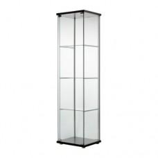 خزانة بباب زجاجي فنجا