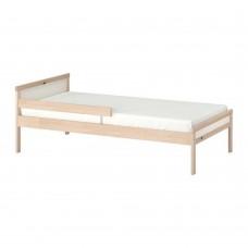 سرير خشب زان 70*160 سم
