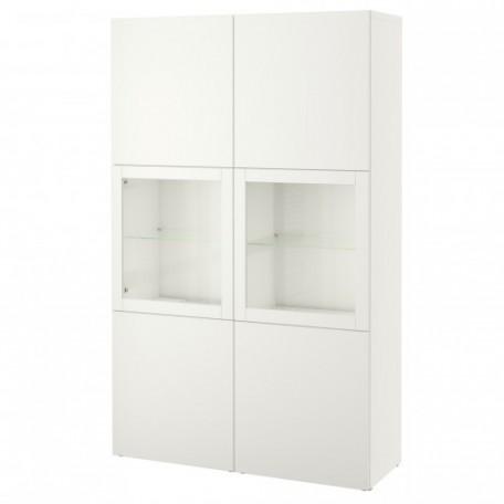 تشكيلة تخزين مع أبواب زجاج شفاف