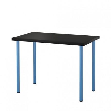 طاولة مكتب لون فنجا أزرق 120x60 سم
