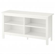 طاولة تلفاز لون أبيض