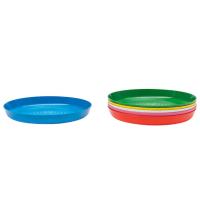 6 صحون اكل للاطفال بالوان مختلفة