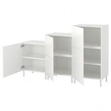 خزانة لون أبيض