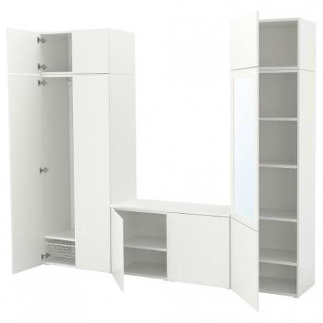 خزانة ملابس9 أبواب لون أبيض