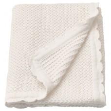 بطانية أبيض