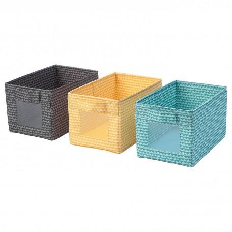 صندوق متعدد الألوان 3 قطع