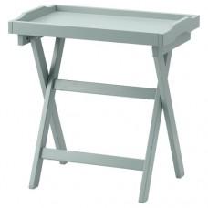 طاولة صينية لون أخضر 58x38x58 سم