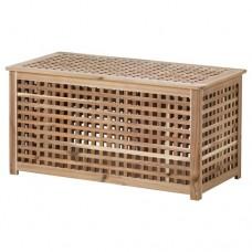 طاولة تخزين من خشب السنط