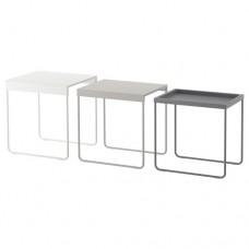 مجموعة طاولات طقم من 3