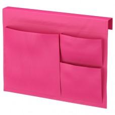 جيب سرير لون وردي