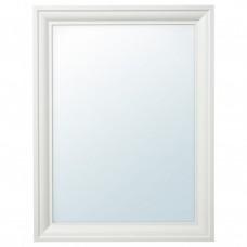 مرآة لون ابيض 65x85 سم