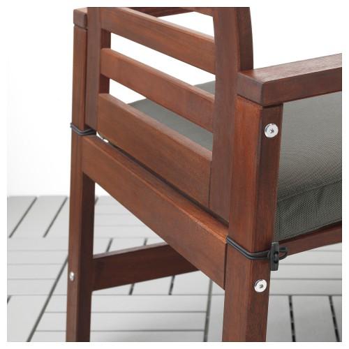 طاولة + 6 كراسي بمقابض + مقعد